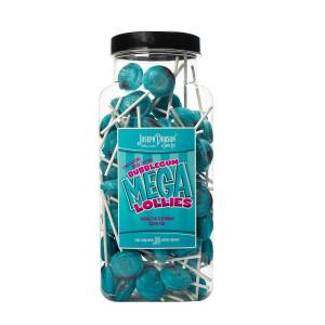 Bubblegum 90 Lollies Per Jar