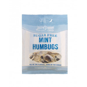 Mint Humbugs Sugar Free 80g Bag
