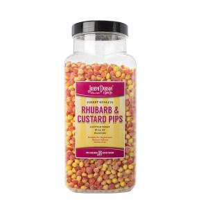 Rhubarb & Custard Pips 2.72kg Large Jar